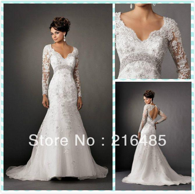 the gallery for gt wedding dresses with 34 sleeves