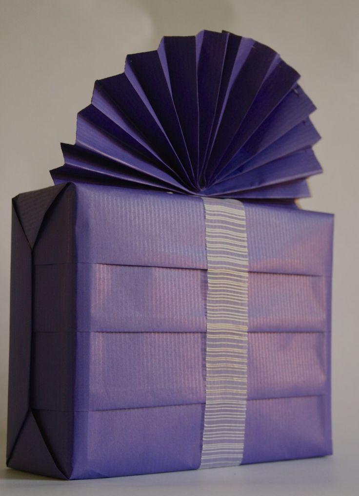 elegante envoltura de regalos