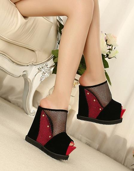 Korean style platform velvet fashion shoes blue blue w0059 2088760 weddbook Korean fashion style shoes