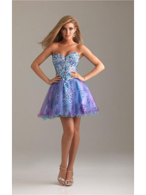 Short Sweetheart Dresses