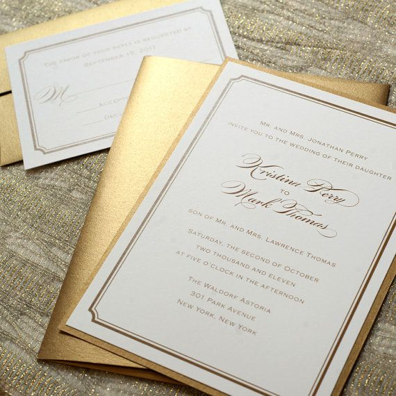 Gold wedding invitation paper gold 2089046 weddbook invitation paper gold stopboris