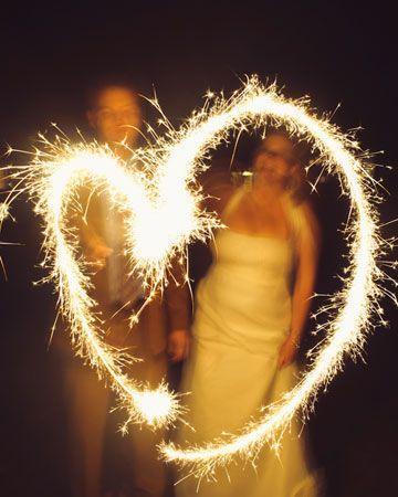 Hochzeit - Twinkle Lights & Sparkly Hochzeiten