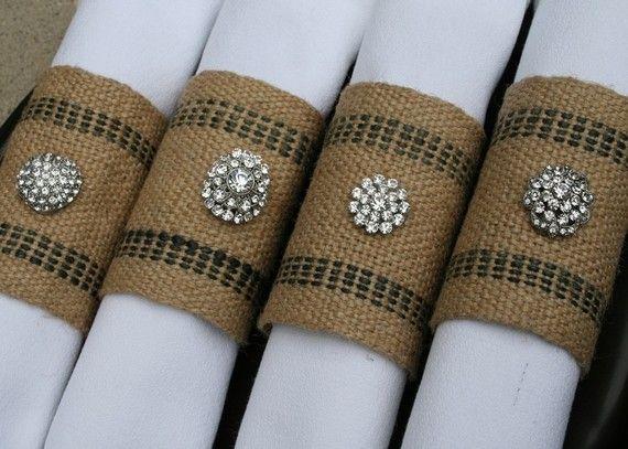 Hochzeit - Hochzeiten - Serviette Couture