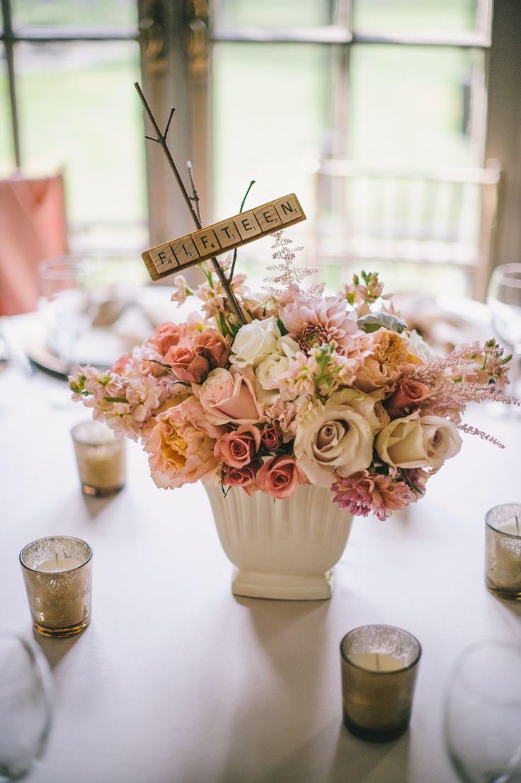 Mariage - Idées de nombre de table