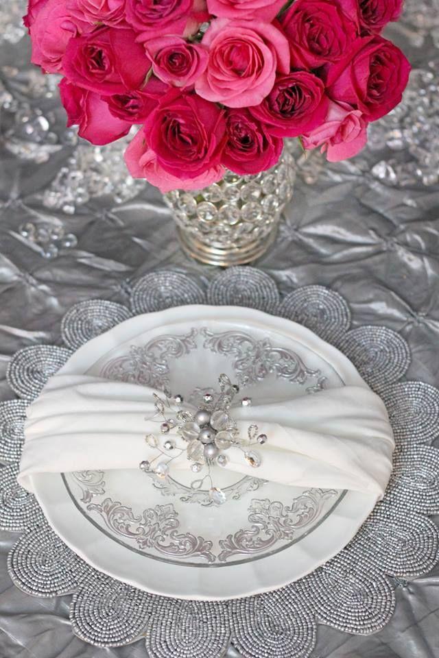 Mariage - Mariages - Serviette Couture