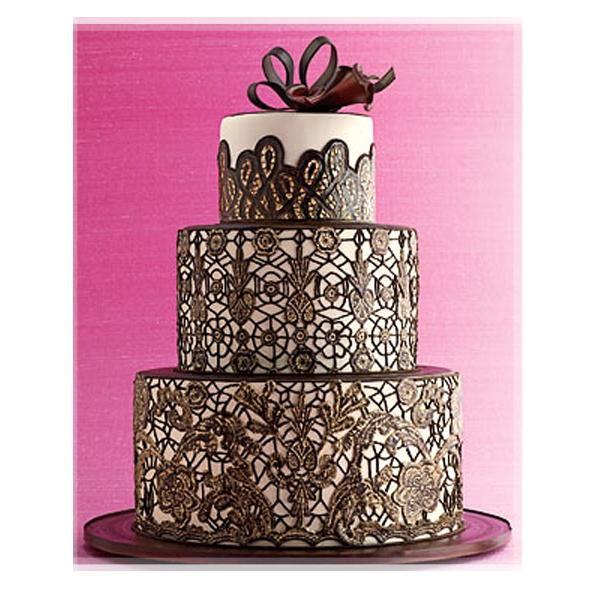 tartas modernas de la boda