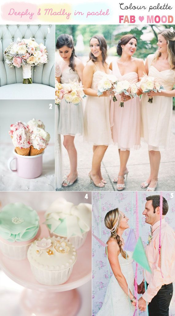Wedding - Pastel Wedding Inspiration