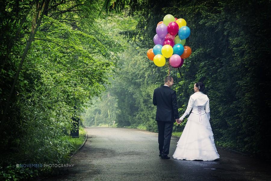 Wedding - Coloured Walk
