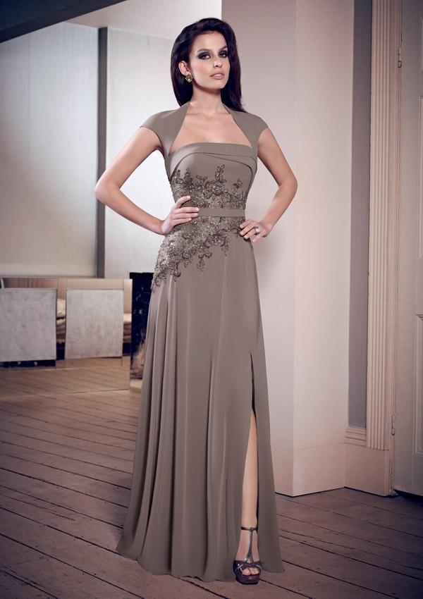 Wedding - Chiffon And Lace Mother Of The Bride Dresses(HM0694)