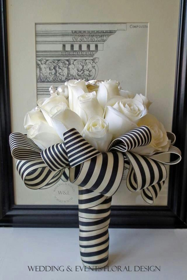 Black And White Stripe Weddings