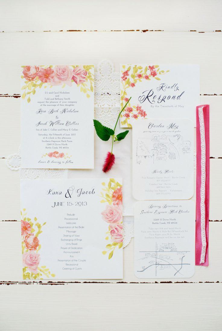 Свадьба - Garden Party {Свадьбы