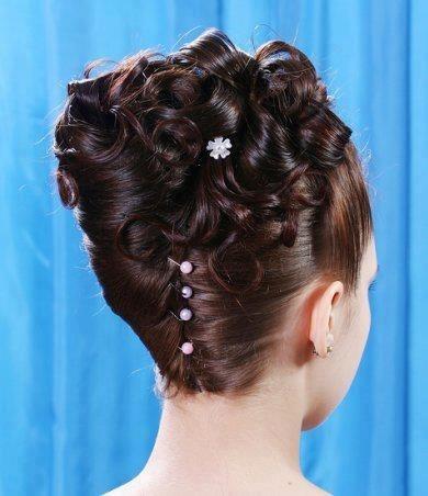 Mariage - Cheveux nuptiale de mariée
