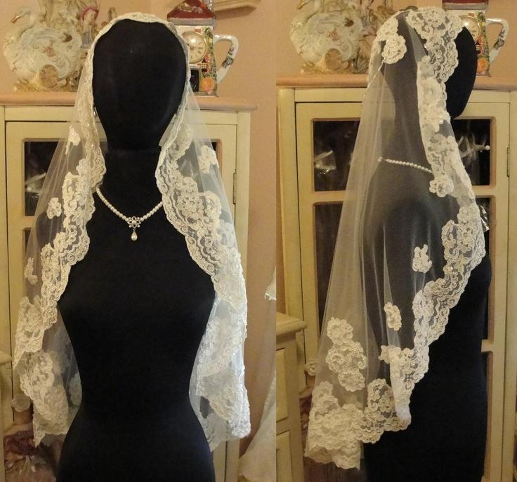 زفاف - الحجاب وأغطية الرأس