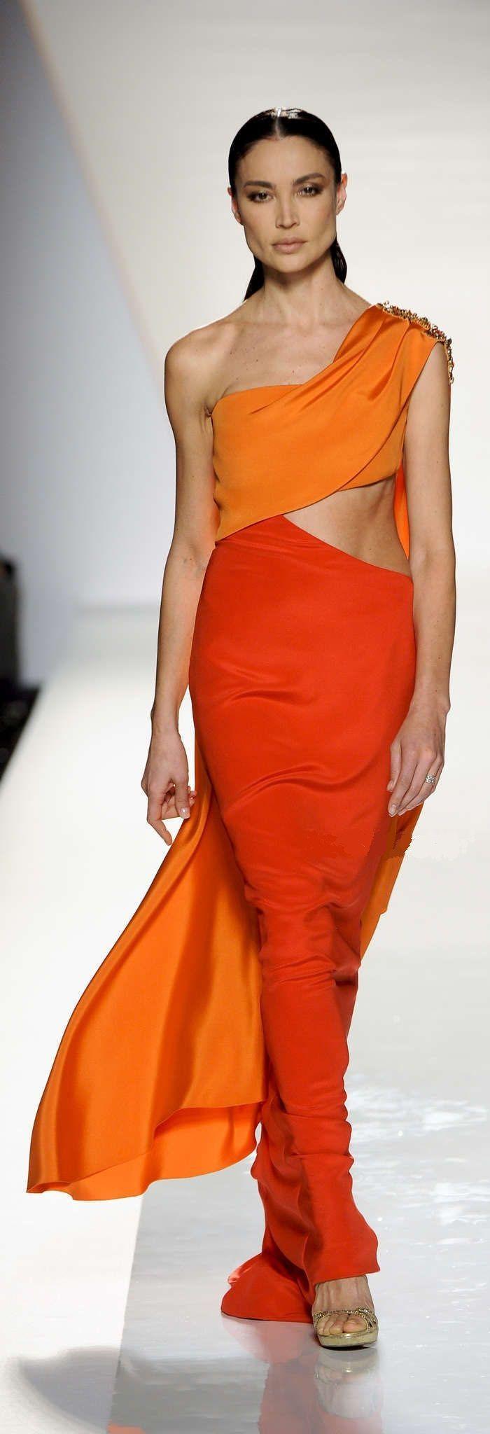 Hochzeit - Kleider .... orange Obsessions