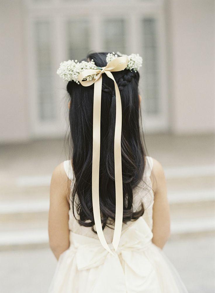 Элегантная прическа для свадьбы