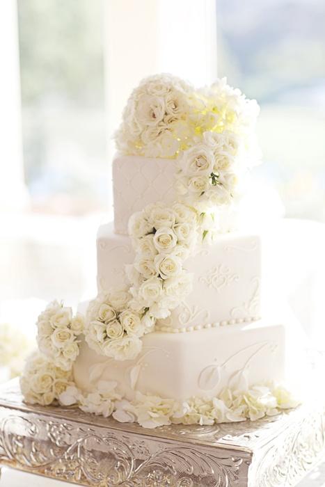 Un gâteau de mariage tout blanc, oui ou non ? 6