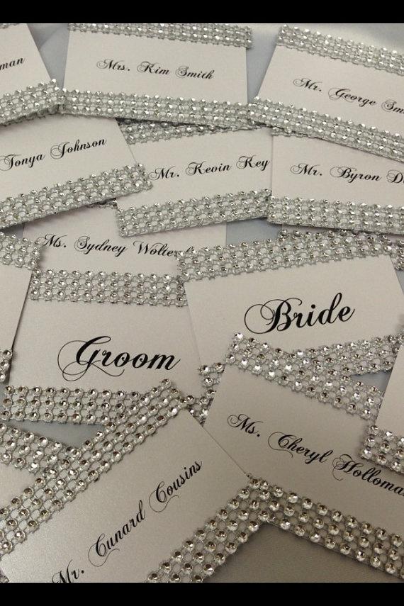 Wedding - ♥~•~♥Ideas For Wedding Escort / Seating Card