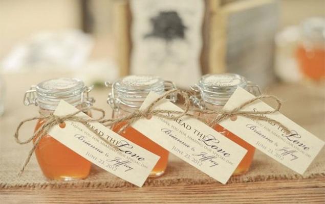Perfect Wedding Favors: Homemade