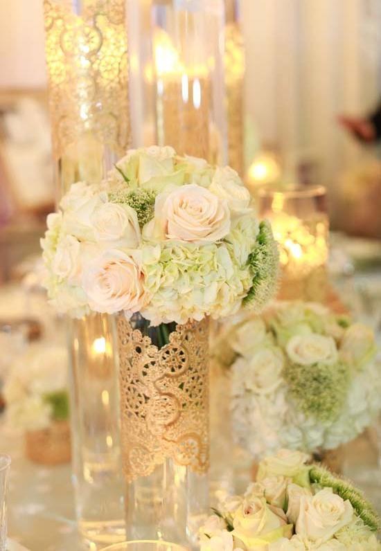 Hochzeit - Deckchen Hochzeits-Dekorationen