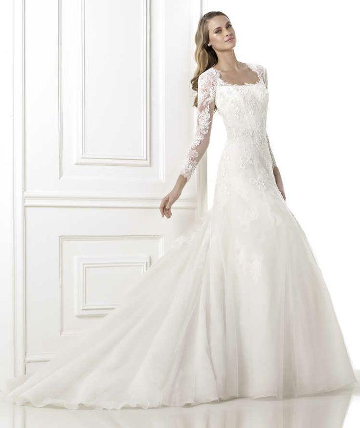 Boda - Manga larga y 3/4 de longitud de la manga del vestido de boda Inspiration
