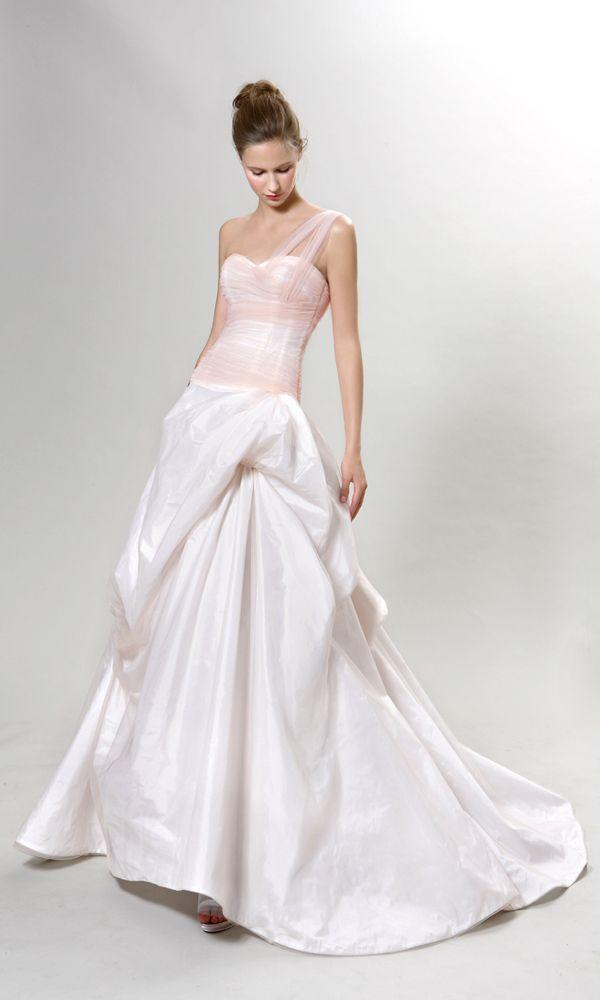 One Shoulder Strap Wedding Dress Inspiration 2096040 Weddbook