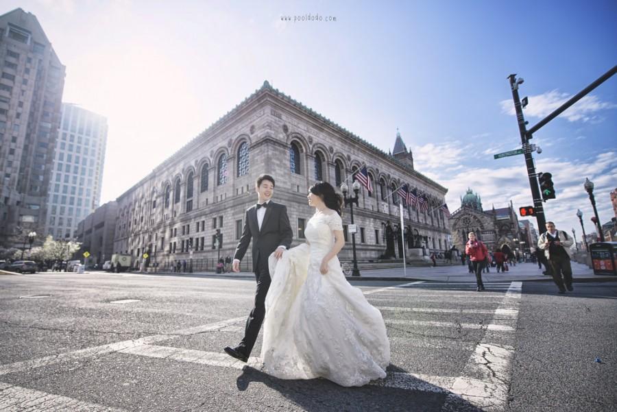 Mariage - [Mariage] rue sur Boston
