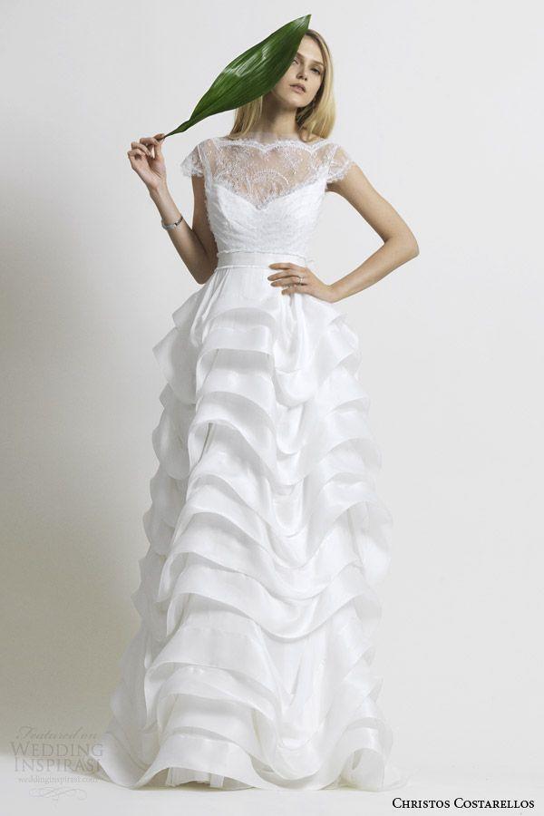 a5ee1b8670738 بأكمام قصيرة   كاب يكمم   إيقاف الالهام الأكمام الكتف ثوب الزفاف ...