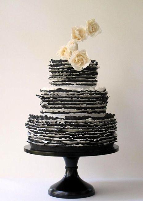 Hochzeit - Black & White Wedding