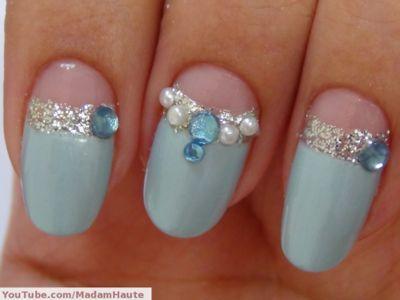 Wedding - ༺♥༻ Nails Art De Novias༺♥༻