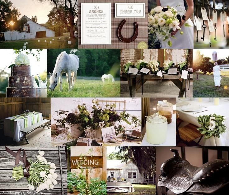 Mariage - Country Western mariage Inspiration