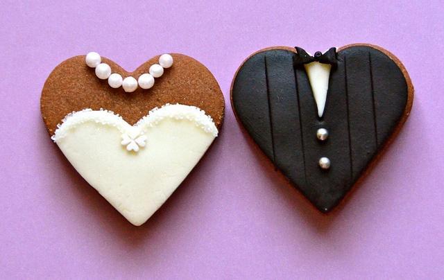 Hochzeit - Cookies - Hochzeit