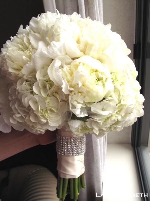 Hochzeit - Brautsträuße Weiße