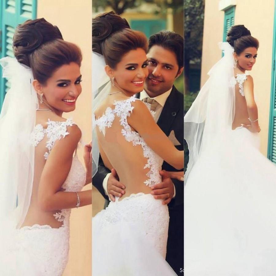 Свадьба - Lace Mermaid Wedding Dresses