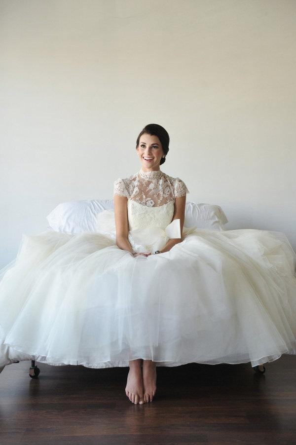 زفاف - حفلات الزفاف العروس، تول