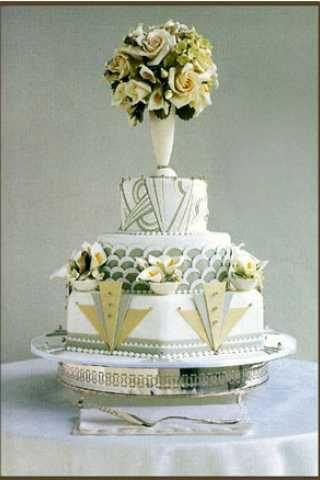 Hochzeit - Hochzeiten-Kuchen