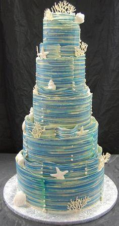 Wedding - Wedding Cake, Nautical, Boat Club