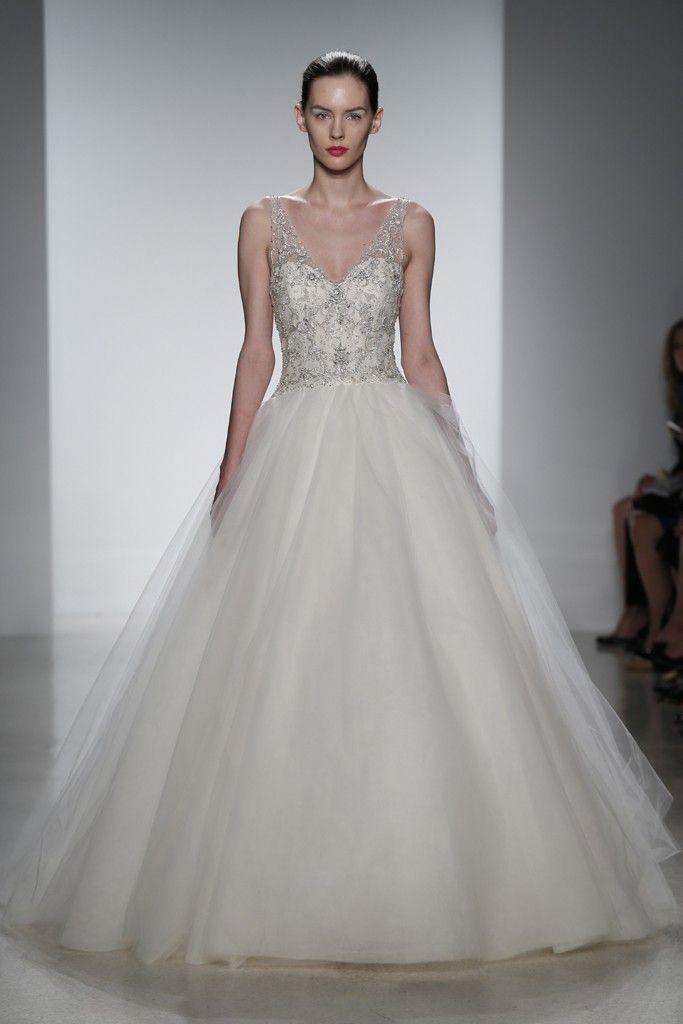 Dress - Sleeveless Wedding Gown Inspiration #2100021 - Weddbook