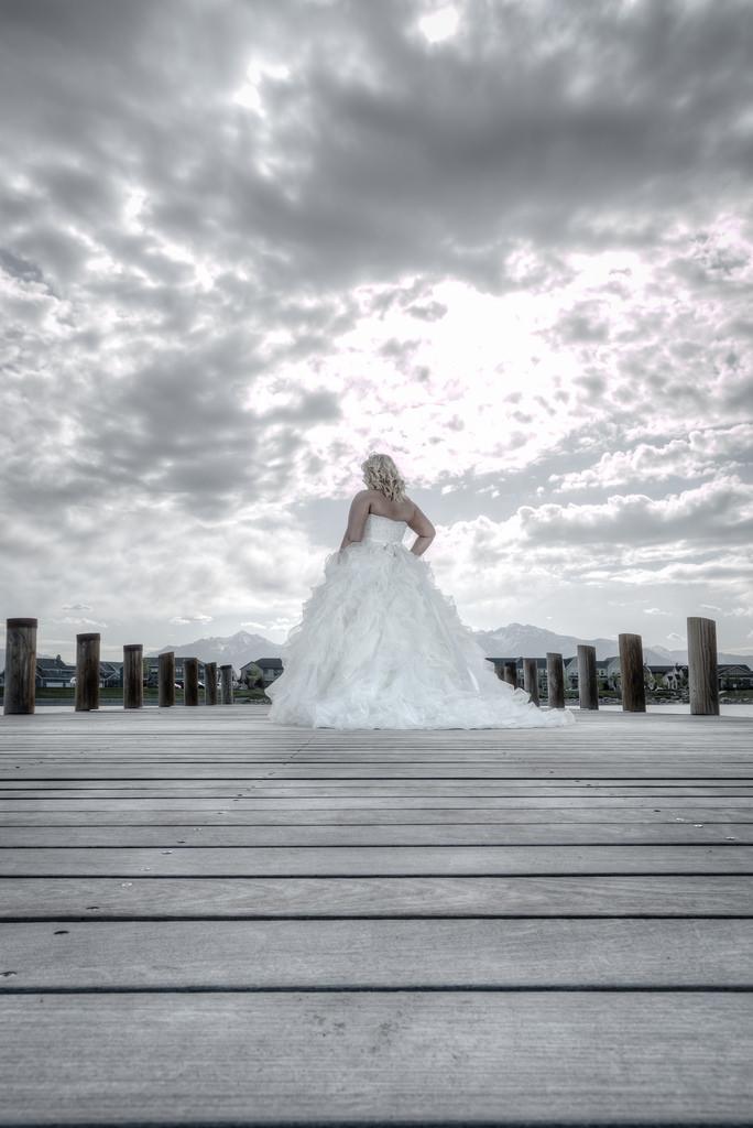 Wedding - Stormy Bride