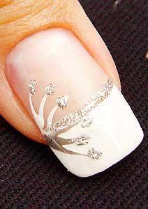 Свадьба - Искусство ноготь венчания
