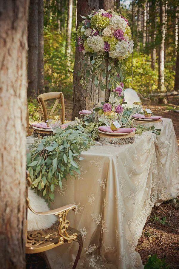 Fairy wedding fairytale woodland weddings 2101112 for Fairy themed wedding dresses