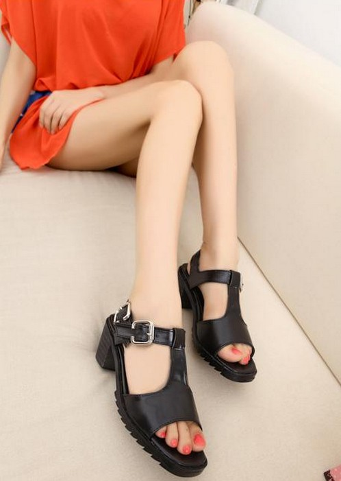 Mariage - Sweet Style Bowknot Flat Sandals Shoes Red Red SD0367