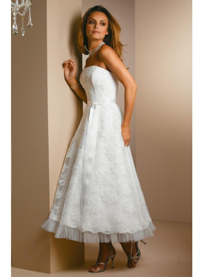 Tea Length Princess Dress