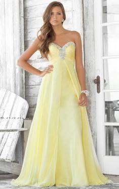 Robe soiree jaune pas cher