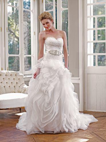 Düğün - Straplez Gelinlik İlham
