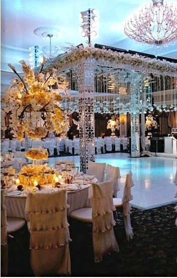 Mariage - Romantique Table Settings cru ..