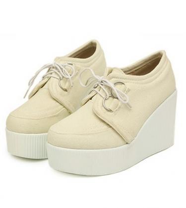 Mariage - Preppy Style Color Block Thick Heels Shoes Pump Purple PF0108