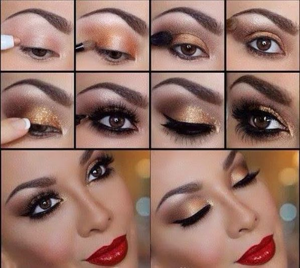 Wedding Makeup Tutorial : Makeup - Eye Makeup Tutorial #2103865 - Weddbook