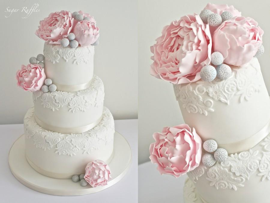 How To Make Edible Lace For Wedding Cakes