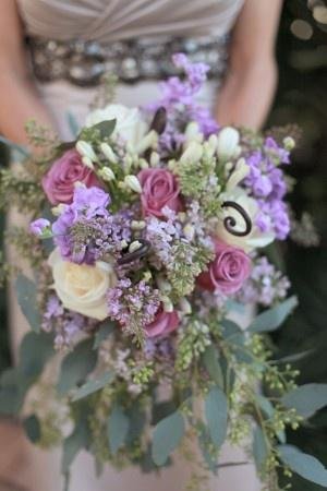 Mariage - Nuptiale Bouqet Violet