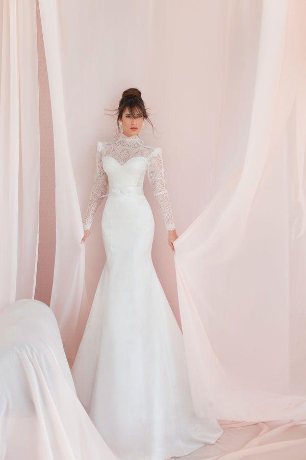 Свадьба - С длинными Рукавами и 3/4 Длины Рукава Свадебное Платье Вдохновение